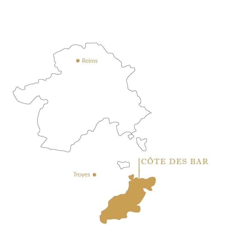 Cote-de-Bar_Karte